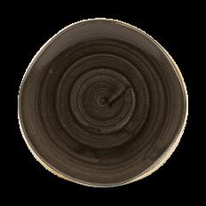 Stonecast Patina Iron Black Round Trace Talerz Głęboki