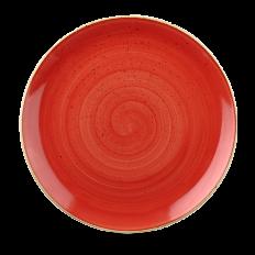 Stonecast Berry Red Evolve Talerz Płytki