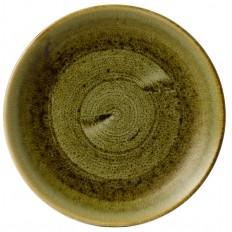 Stonecast Plume Green Evolve  Talerz Płytki