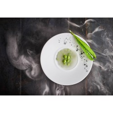 Prime talerz gł. gourmet ecru 28cm
