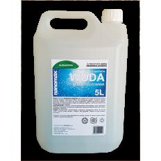 nanomax WODA demineralizowana (osmoza) - 5,0 L