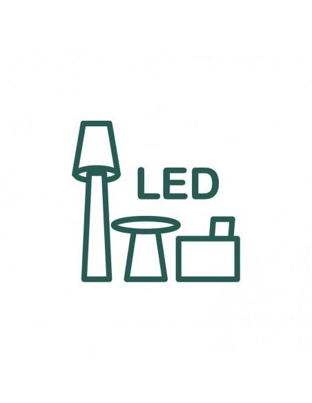 Meble podświetlane LED
